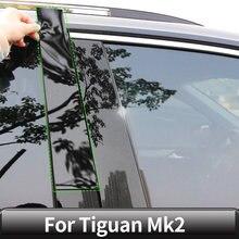 Volkswagen Vw Tiguan Mk2 2016171819 20 akcesoria samochodowe autor dekoracja zewnętrzna naklejki ochronne na filar centralny okna