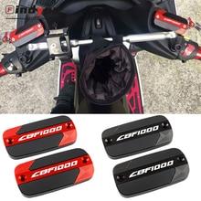 For HONDA CBF1000 CBF 1000 2006 2014 2013 2012 2011 Motorcycle Accessories Front Brake Master Cylinder Fluid Reservoir Cover CNC