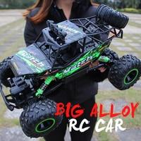 ZWN 1:12 / 1:16 4WD RC Auto Mit Led-leuchten 2,4G Radio Fernbedienung Autos Buggy Off-Road control Lkw Jungen Spielzeug für Kinder