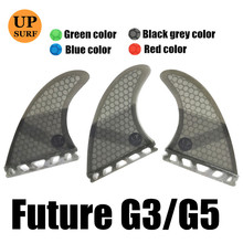 Good Quality FCS Fins surf G5 Fin Honeycomb Fibreglass Surfboard