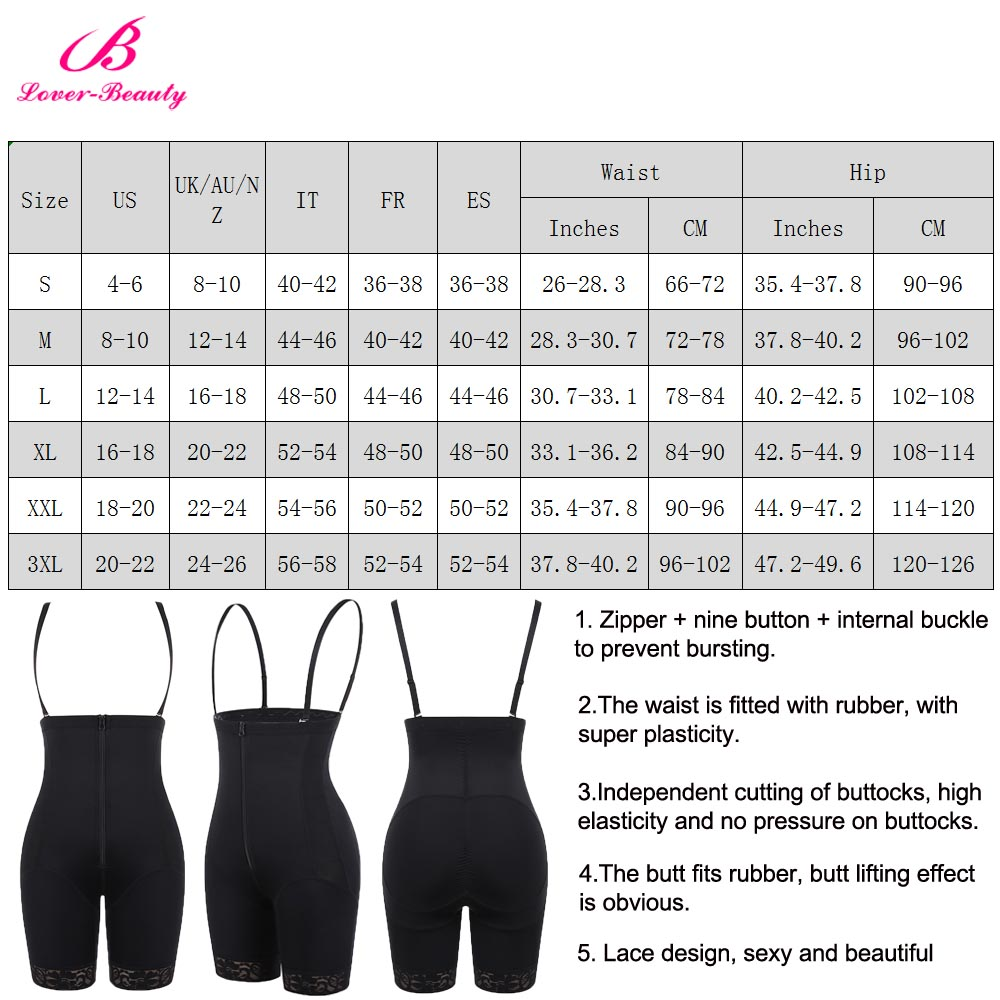 Lover-Beauty High Waist Tummy Control Butt Lifter Panties Selling in Achimota 6