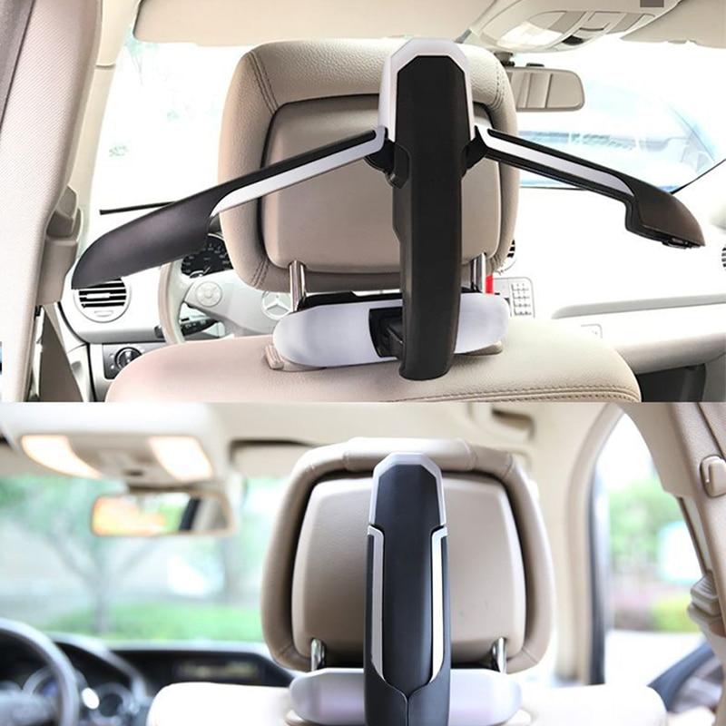 Top Quality Car Safety Hanger For Coat Jacket Suit Car Coat Hanger Back Seat Headrest Clothes Hanger Safety Handle Hanging Hook