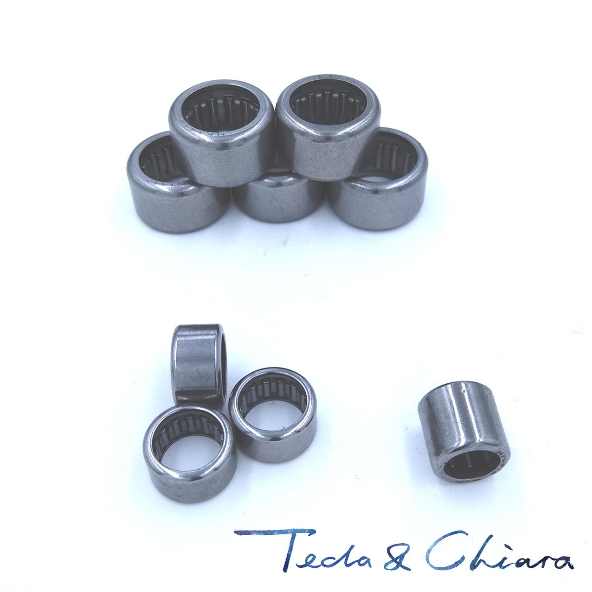Drawn Cup Needle Roller Bearings 14x20x16 mm 20pcs Bearings HK1416
