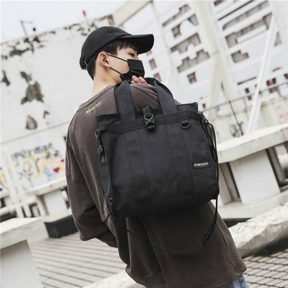 Men's Shoulder Messenger Bags New fashion High School Student crossbody Bags Women Hip Hop Casual Small Bags B45-82