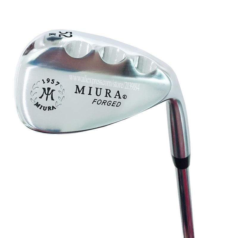 Nouveaux Clubs de Golf Miura k meulage 1957 cales de Golf forgées 52 ou 56.60 cales projet de Clubs X ensemble de Golf en acier livraison gratuite-in Clubs de golf from Sports et Loisirs on Cooyute-RedEagle168 Store
