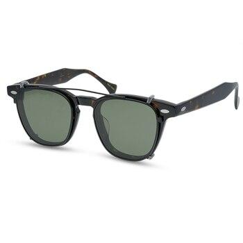 2020 New Retro Polarized Sunglasses 6 Colors Men and Women Unique Personality Fashion Sunglasses With Box