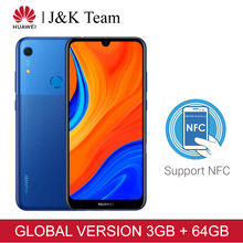 Huawei Y6s 64Gb Global Versie Smartphone 6.09 Inch Nfc Mobiele Telefoon 3020Mah Batterij Gezicht Unlock Id 13MP Camera