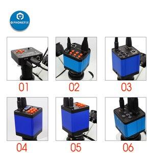HD HDMI USB промышленная электронная цифровая лаборатория, биологический стерео микроскоп камера 14MP 16MP 38MP для телефона процессор печатная плат...