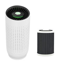 Portable Mini Car Air Purifier Cleaner USB Chargeable Negative Ion Generator Freshener for Home Office Use