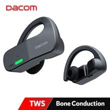 DACOM Bonebuds Bone Conduction Headphones TWS Waterproof Bluetooth Earbuds Ture Wireless Stereo Sports Earphones AAC Type-C