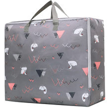 Thick Oxford Cloth Moisture-Proof Blanket Storage Organizing Folders Large-Volume Move Bag Clothes Organizing Packaged Luggage A