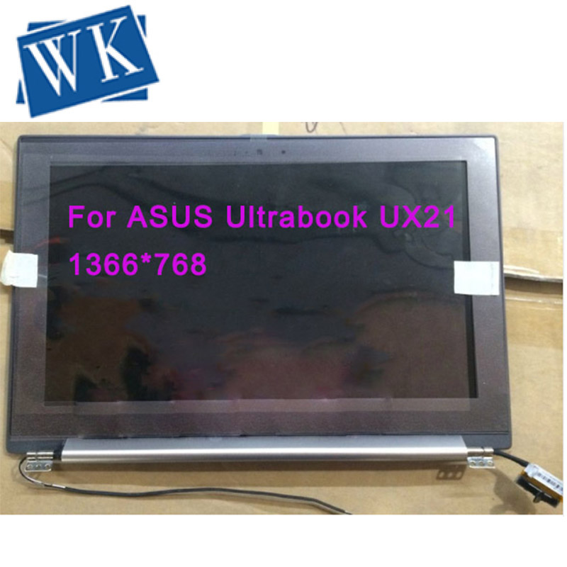 Free Shipping Original LCD SCREEN For ASUS Ultrabook UX21 UX21E HW11WX101 HW11WX101-03 HW11WX101-05 LED Display Assembly
