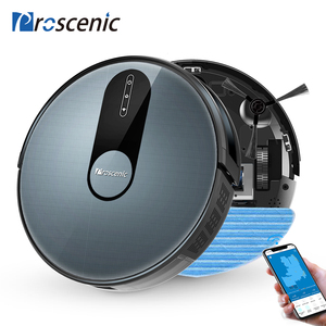 Image 1 - Proscenic 820P 1800Pa Robot Vacuum Cleaner 3in1 Planned Route Washing Smart Robot with Wet Cleaning Carpet Cleaner for Home APP