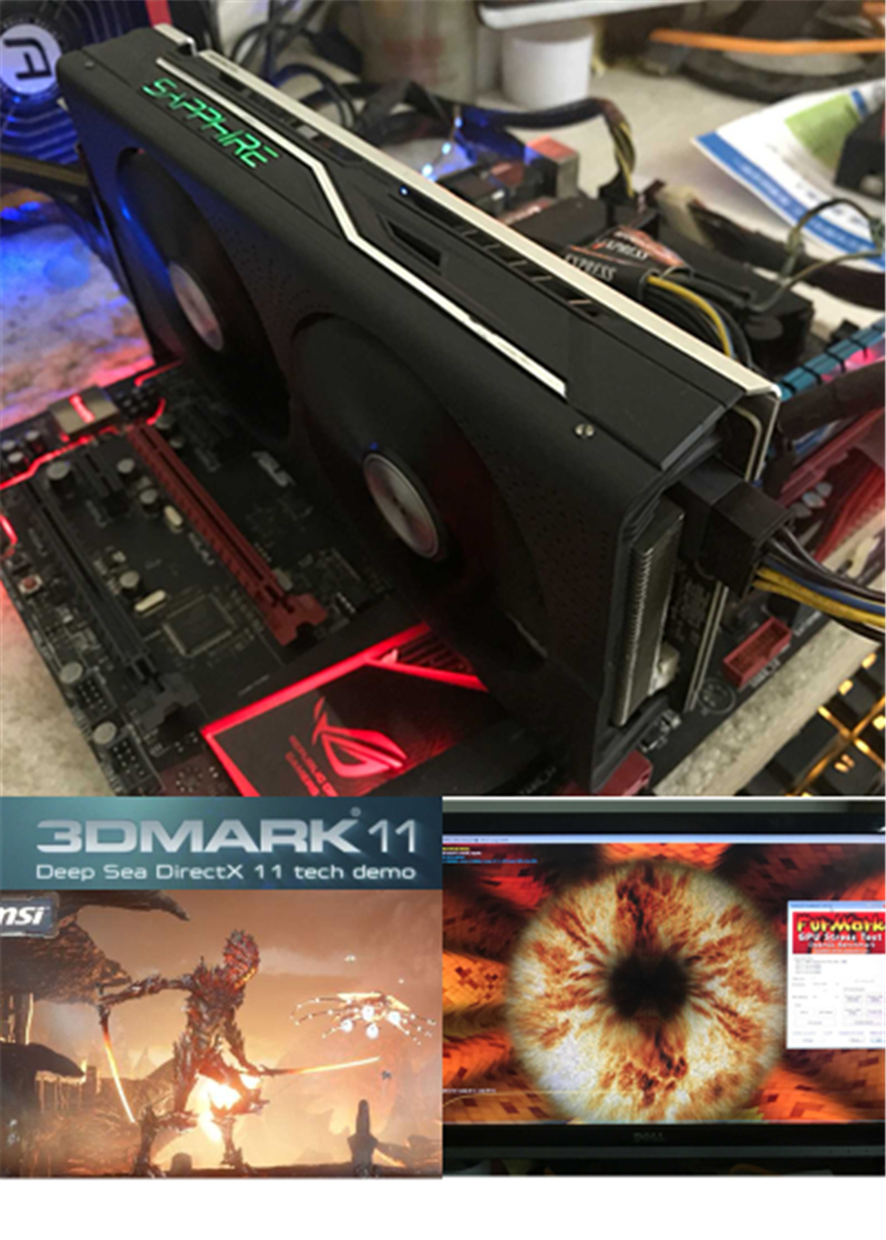 SAPPHIRE RX550 4GB Graphics Cards GPU Original AMD Radeon RX 550 4GB GDDR5 Video Cards