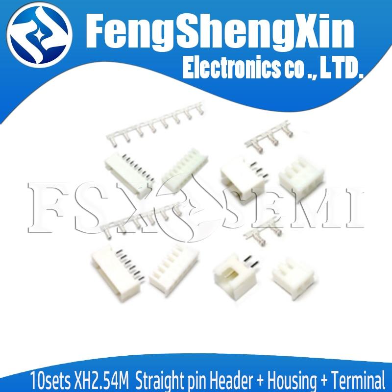 White XH2.54 2.54MM XH-2A straight pin socket XH-2P 100pcs//lot