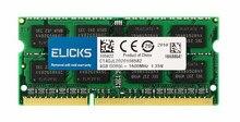 Mémoire DDR3L pour ordinateur portable, SODIMM 1600, 4 go, 8 go, PC3L-12800 MHz, 204 broches, 1.35V vert