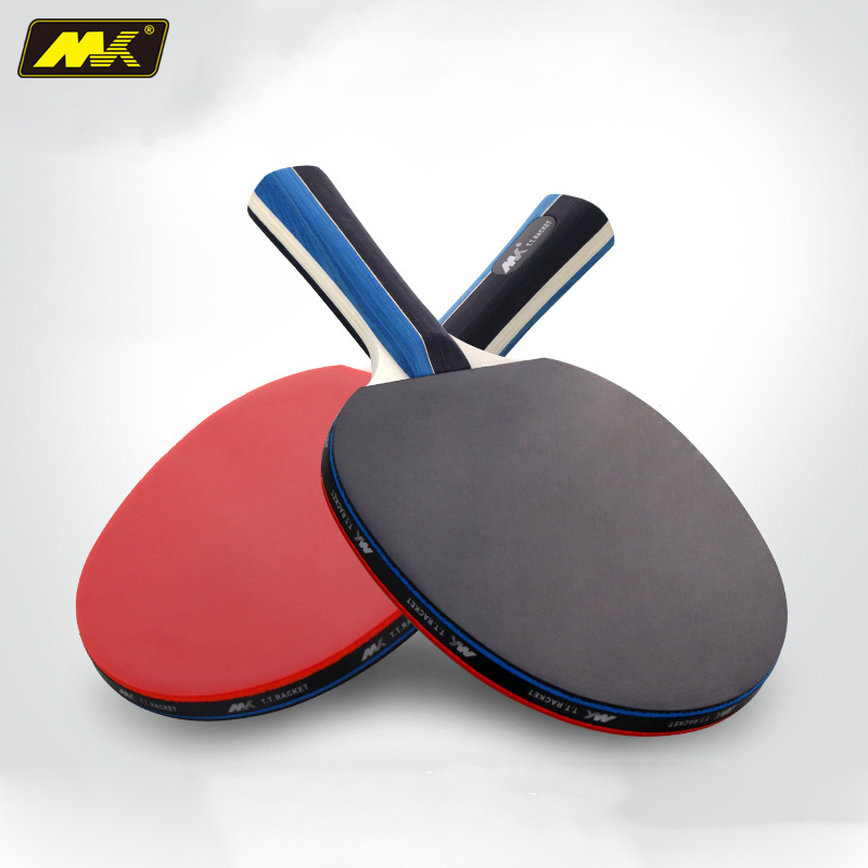 2Pcs Upgraded Table Tennis Racket Double Face Pimples-in Racket Rubber Table Tennis Bat Lightweight Powerful Top Recommended