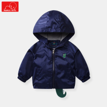 spring autumn children dinosaur jackets cartoon kids windbreaker outerwear boys cute girls overcoat child clothing