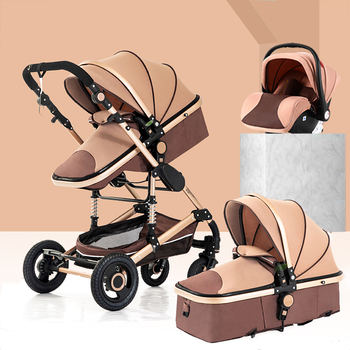 Wózek dziecięcy 3 w 1 lekki wózek wózek dziecięcy wysoki krajobraz wózek do wózka dla dziecka wózki dla 0-36 miesięcy wózek dla dziecka tanie i dobre opinie Magic ZC 0-3 M 4-6 M 7-9 M 10-12 M 13-18 M 19-24 M 2-3Y 4-6Y Baby stroller 3 in 1 85 kg 0-6 years