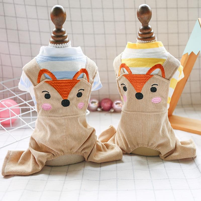 Купить лиса вариант домашних животных одежда в полоску для мальчиков