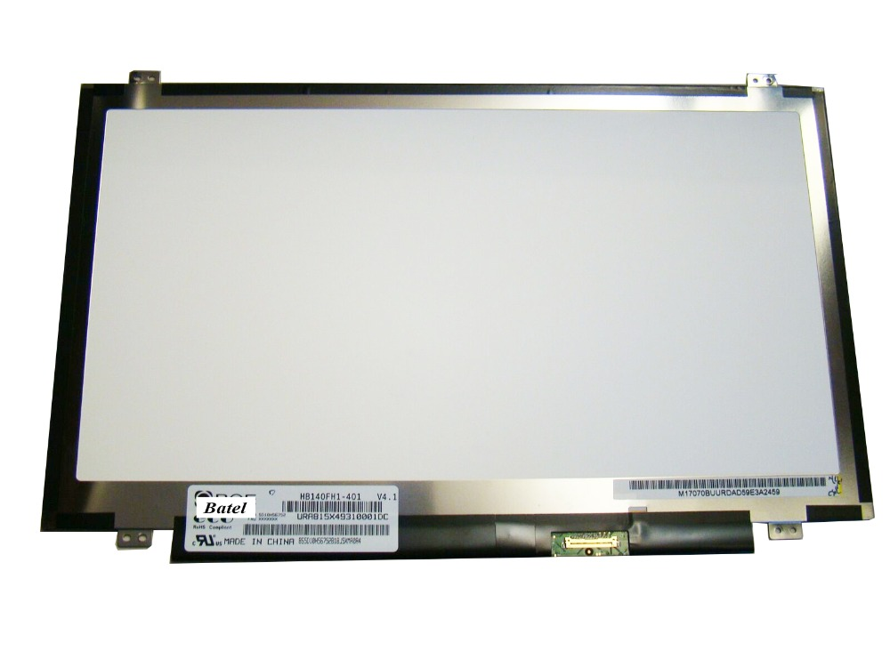 Matrix For Jumper EZbook S4 <font><b>14</b></font> <font><b>Inch</b></font> Laptop <font><b>LCD</b></font> Screen <font><b>30</b></font> <font><b>Pins</b></font> FHD 1920X1080 Panel replacement image