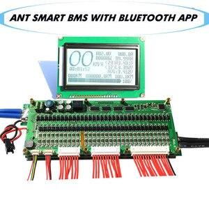 Image 3 - 16S Đến 32S Thông Minh Kiến Bms New DIY Lifepo4 Li ion 50A/80A/100A/110A/120A Thông Minh Bms Pcm Với Android Bluetooth Ứng Dụng Màn Hình