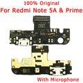 Оригинальный USB разъем для Redmi Note 5A Prime  плата зарядного устройства  гибкий кабель для Redmi Note 5A  зарядный порт  Dork разъем  запасные части