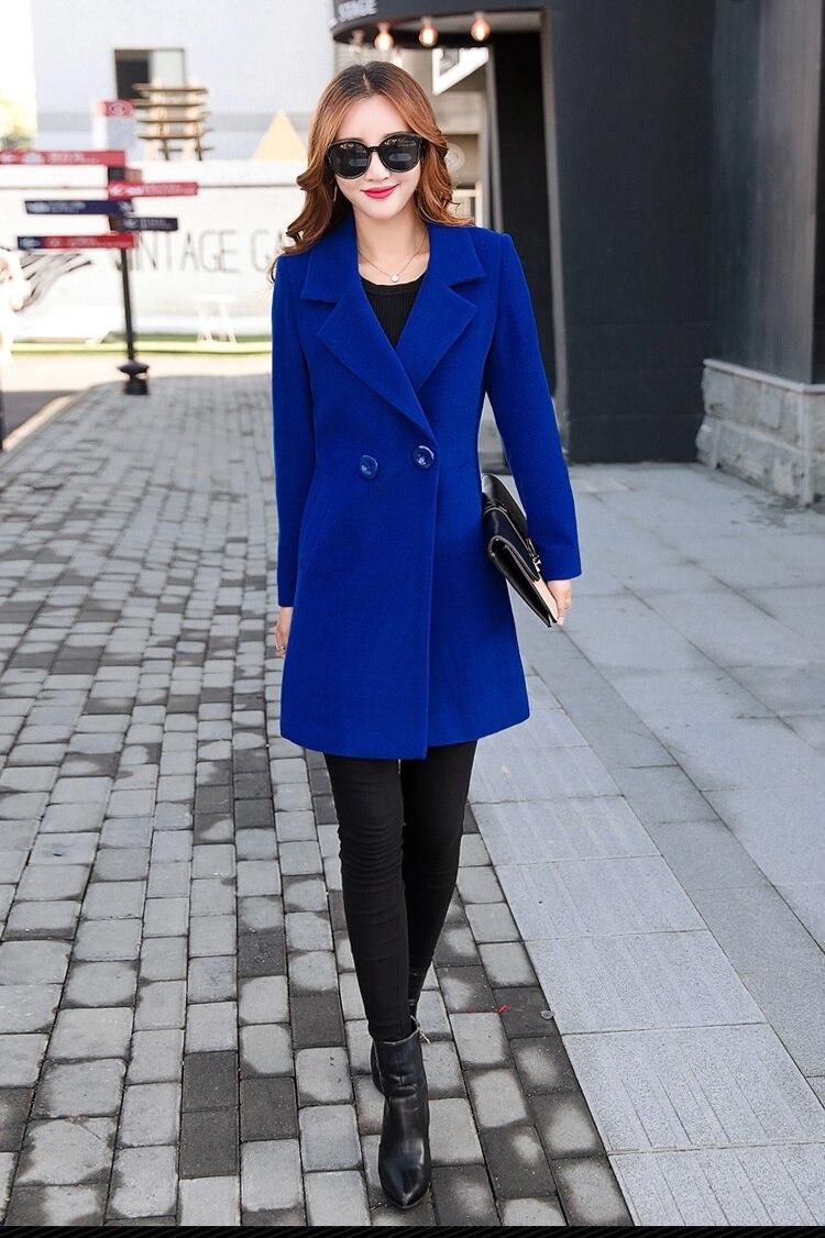 YICIYA Winter autumn Coat Women Wool Jacket Long Oversized Coats Plus Size Large Black Blend Woolen Warm Outerwear 2019 Clothing 40