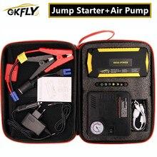 Gkfly super power start dispositivo 12v 600a carro ir para iniciantes banco de potência carregador de carro bomba de ar impulsionador para gasolina diesel automóvel