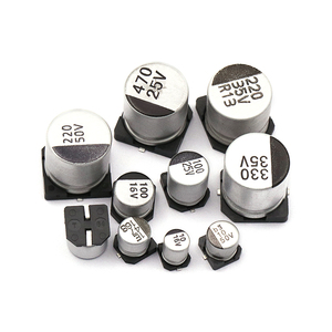 Image 3 - 1uF~1000uF 6.3V 50V 400Pcs 24Value SMD Aluminum Electrolytic Capacitors Assortment Kit + Box