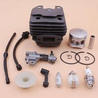 43mm Cylinder Piston Kit For Chinese 4500 45cc Oil Pump Worm Gear Fuel Filter Line Pipe Spark Plug Chainsaw Part