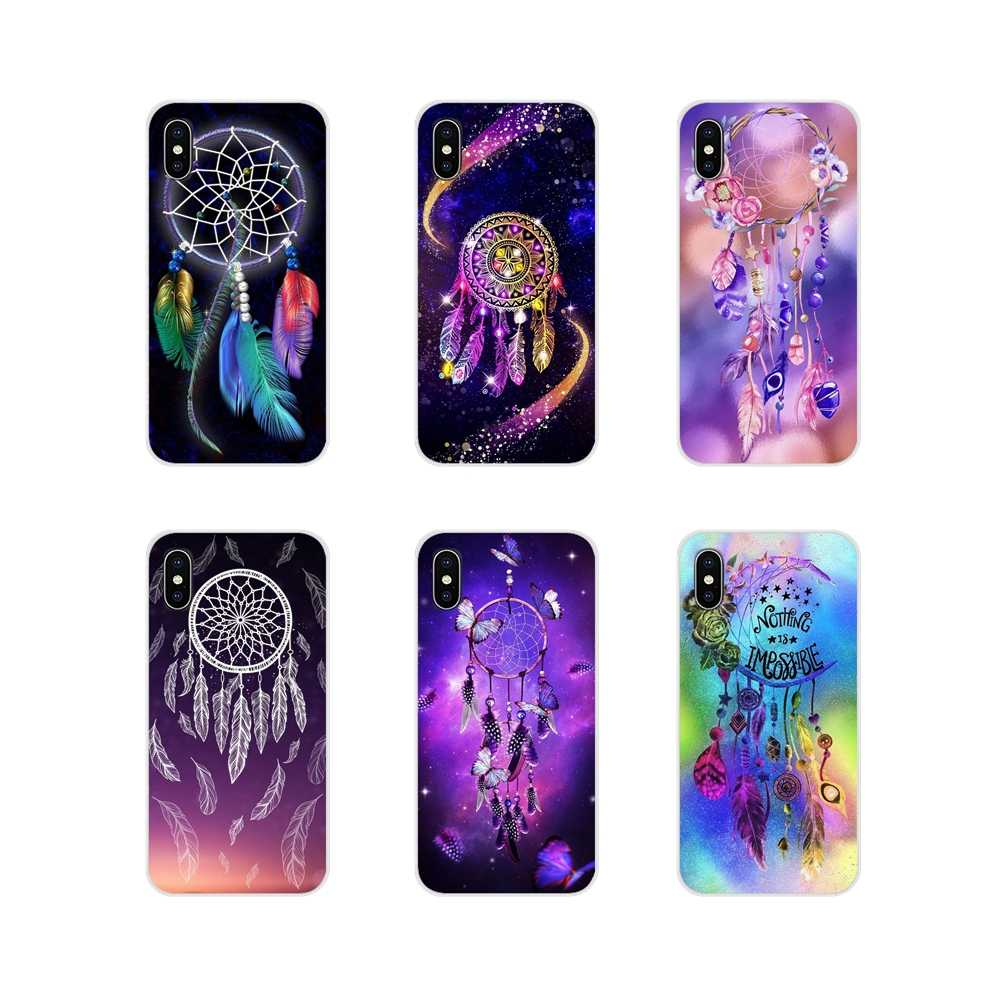 Dreamcatcher For Sony Xperia Z Z1 Z2 Z3 Z5 compact M2 M4 M5 E3 T3 XA Huawei Mate 7 8 Y3II Accessories Phone Shell Covers