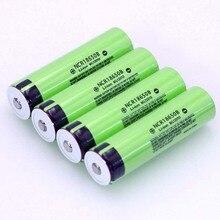 Varicoreオリジナル18650 3.7 v 3400 mahのリチウム充電式バッテリーNCR18650Bと指摘 (no pcb) 懐中電灯電池