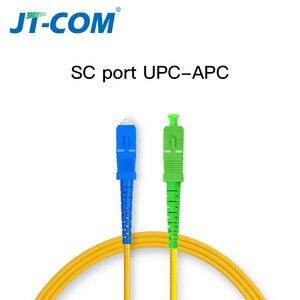 Image 5 - Ponticello 3m 10m 30m della fibra ottica del cavo di toppa della fibra ottica monomodale dello SC APC UPC SM 2.0 o di 3.0mm 9/125um FTTH