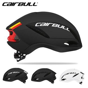 Casco de terciopelo para ciclismo CAIRBULL, bicicleta de carreras, aerodinámica, casco neumático...