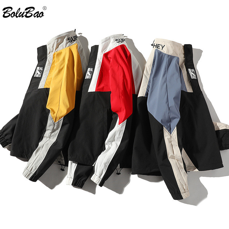 BOLUBAO Brand Men's Jackets Spring Youth Fashion Trend Jacket Male Casual High Quality Stitching Hip Hop Jackets Men