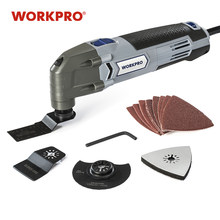 WORKPRO Oscillating Tool 220V Electric Trimmer Saw for Wood Working 300W Power Home DIY Wood Trimmer Multi Tool