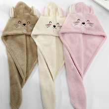 Towels Bathroom Embroidery Microfiber Home-Textile Quickly Cartoon Dry Solid