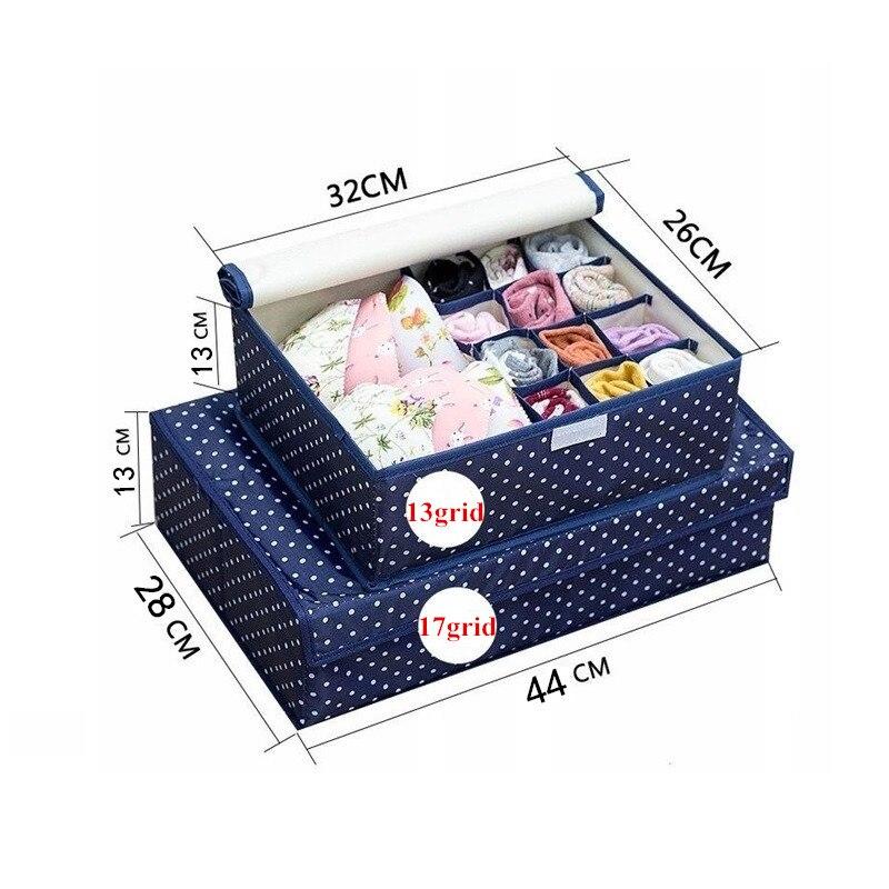 Ящик для хранения носков, домашний пылезащитный бюстгальтер, галстуки, контейнерный делитель, ящик для хранения, шкаф с крышкой
