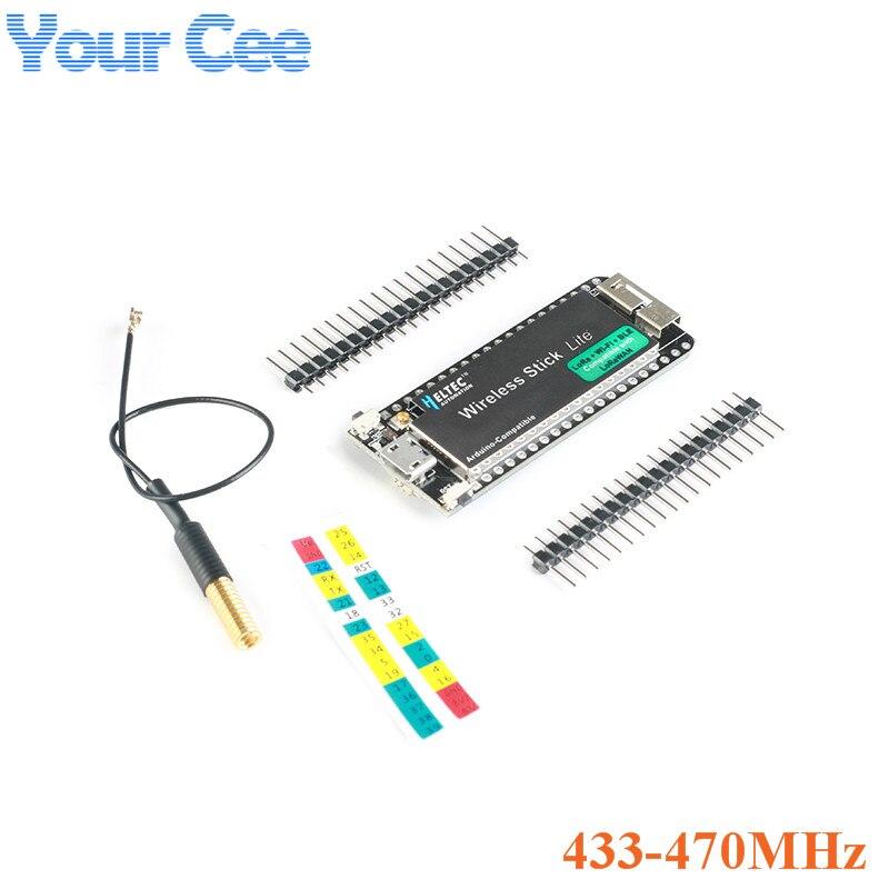 ESP32 SX1276 LoRa Entwicklung Bord LoRAWAN WIFI Bluetooth Entwicklung Bord 433-470MHz 868-915MHz für Arduino mit Antenne