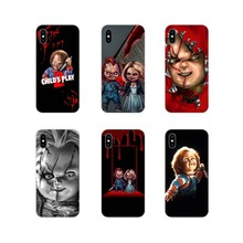 Zachte Transparante Skin Case Voor Xiao Mi Rode Mi Note 3 4 5 6 7 8 Pro Mi Max Mi X 2 3 2S Pocophone F1 Chucky Pop Horror Movie Classic(China)