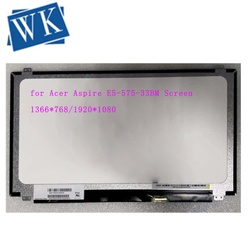 15.6 slim 30 Pin for Acer Aspire E5-575-33BM Screen Matrix Laptop LCD for Acer Aspire E 15 E5 575 LED Display Panel Replacement