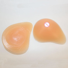 Silicone Breast Form Supports Artificial Spiral Silicone Chest Fake False boobs Prosthesis Postoperative Special Protection Set
