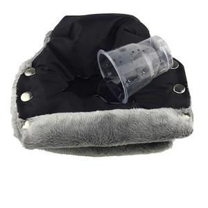 Image 3 - Guantes de invierno para cochecito de bebé, manoplas cálidas, asa de cubierta para cochecito, manoplas calentadoras de mano para silla de paseo, accesorios para Yoyo Yoya