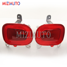 For Jeep Renegade 2015-2018 Rear tail light 3D Optic Red LED Bumper Light with Bulb Tail Stop Lamp Brake Warning