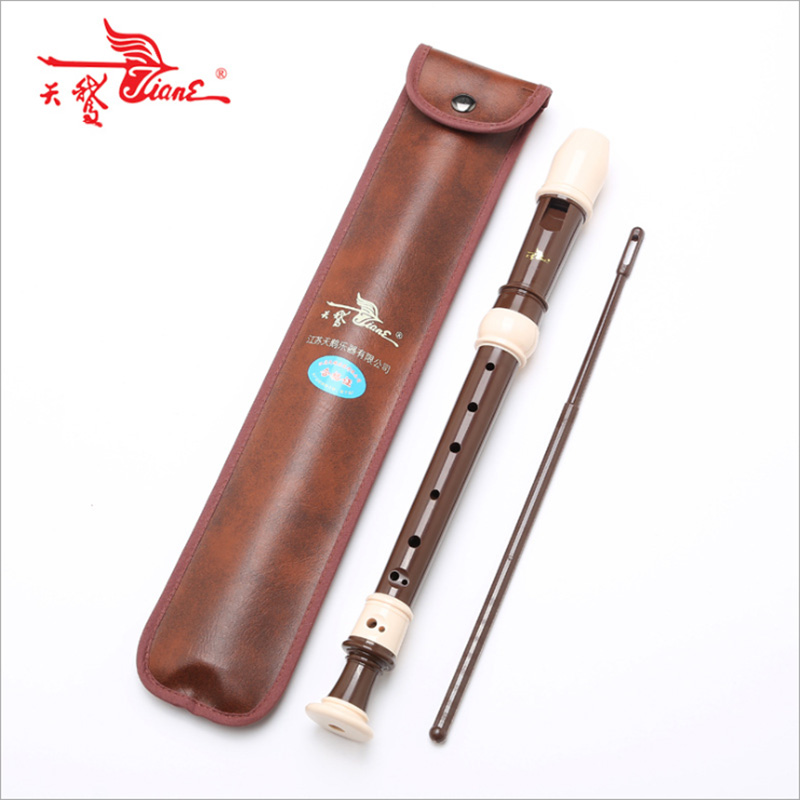 Swan Recorder Baroque Treble Eight-hole ABS Flute Student Adult Playing Play Musical Instrument Factory Direct Sales