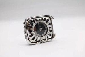Image 5 - Mode rétro boîtier en métal Bracelet Bracelet pour Apple Bracelet de montre série 1 2 3 4 5 Bracelet en cuir 38 42 40 44mm lien ceinture