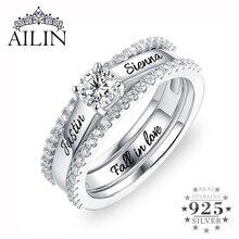 Кольцо обручальное кольцо на заказ женское, кольцо с фианитом, по месяцу рождения, комплект колец с фианитом, размеры 6 12