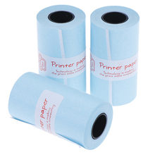 Roll Paper-Stickers Paperang Photo-Printer Thermal-Printing for Pocket 3-Rolls/Lot 57mm-X-30mm