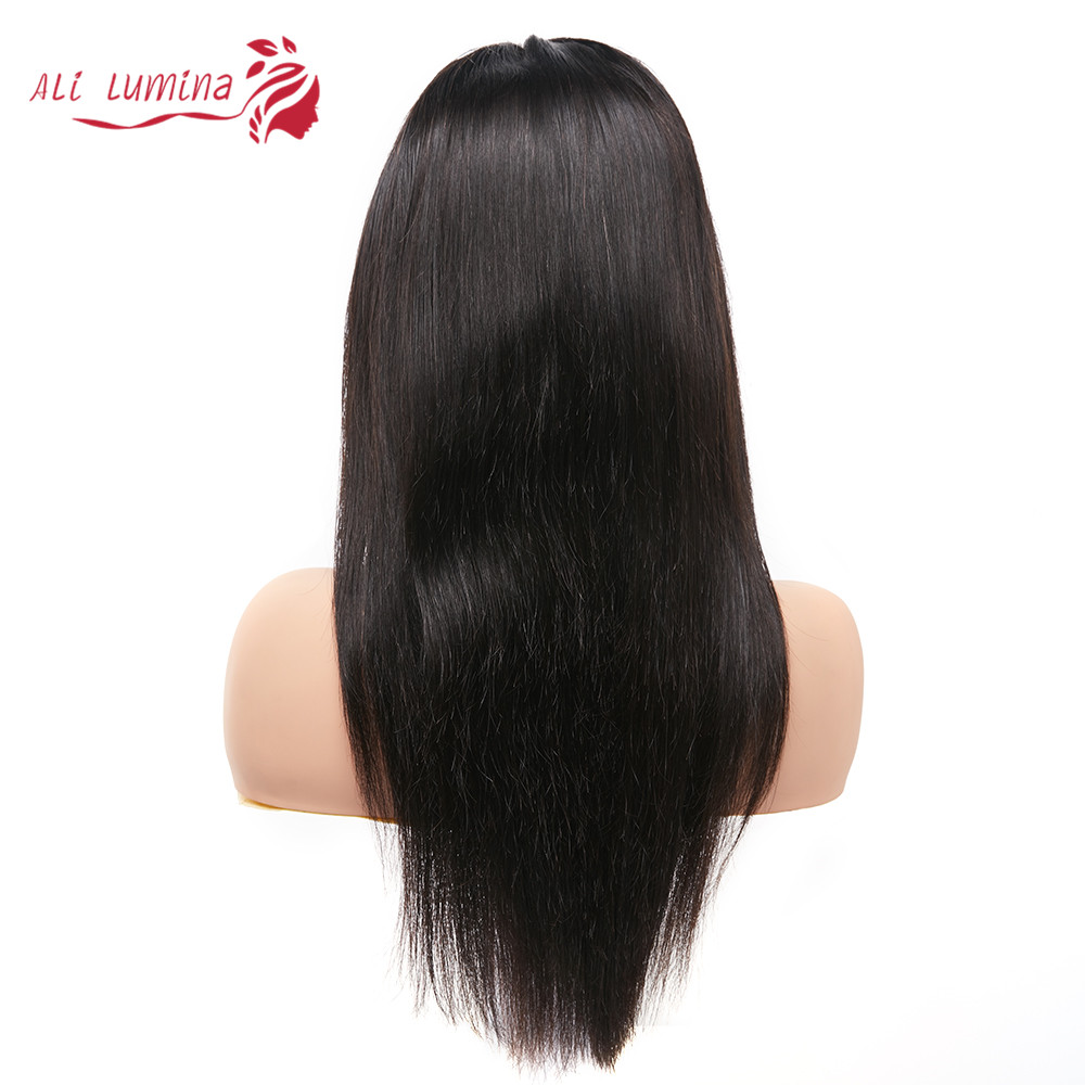 13x4 Lace Front  Wigs  Straight Lace Wigs Pre Plucked 4x4 Lace Closure Wigs With Baby Hair 2